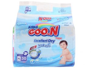 Goon's Baby Diapers Excellent Dry Size XL 12 – 20kg 30 pcs