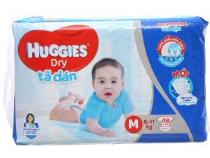 Huggies Dry's baby diapers Size M 6 – 11kg 48 pcs