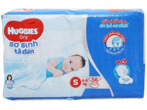 Huggies Dry Pants Size S 4 – 8kg 56 pcs