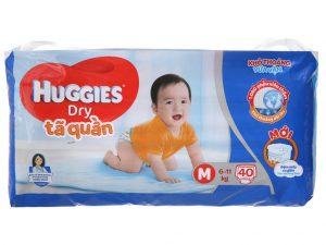 Huggies Dry Pants Size M 6 – 11kg 40 pcs