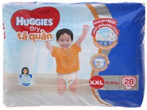 Huggies Dry Pants Size XXL 15 – 25kg 28 pcs