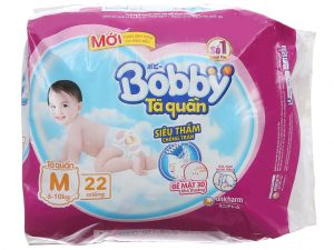 Bobby's baby diapers Size M 6 – 10kg 22 pcs