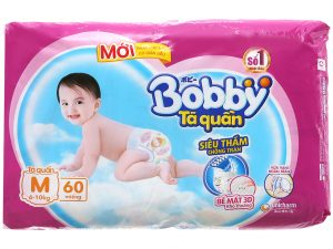 Bobby Pants Size M 6 – 10kg 60 Pcs
