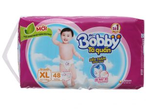 Bobby's baby diapers Size XL 12 – 17kg 48 pcs