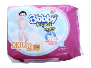 Bobby's Baby Diapers Size XXL more than 16kg 16 Pcs