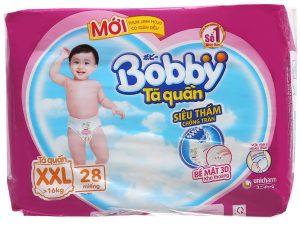 Bobby's Baby diapes Size XXL more than 16kg 28 pcs