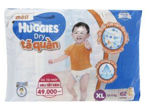 Huggies Dry Pants Size XL 12 – 17kg 62 pcs