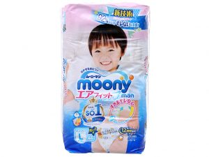 Moony Man Pants Size L 9 – 14kg 44 pcs