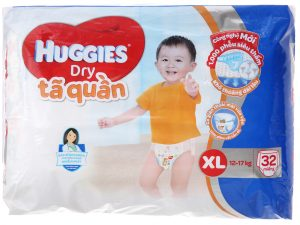 Huggies Dry Pants Size XL 12 – 17kg 32 pcs