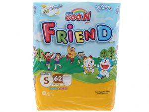 Goon Friend Pants Size S 4 – 8kg 62 pcs