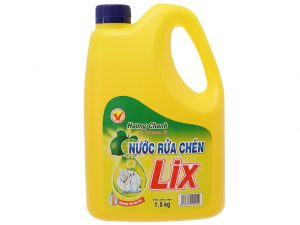Lix Dishwash Vtamin E Lemon 1.5kg