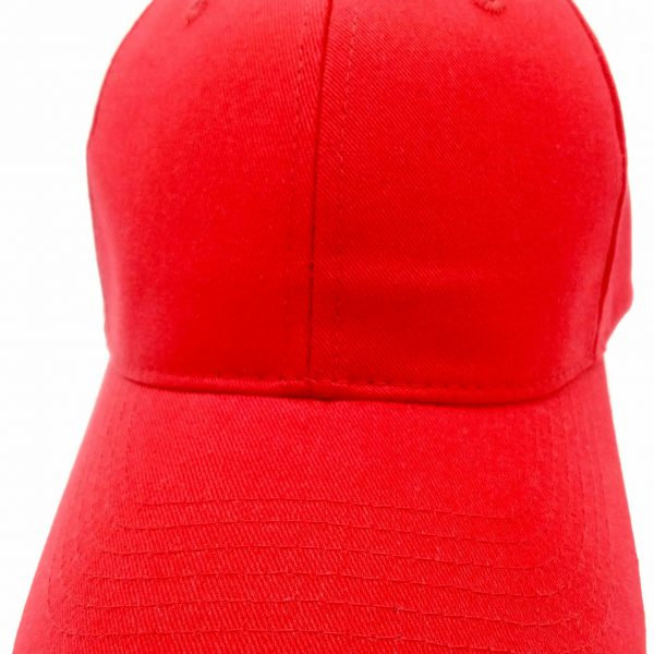 2.Hats without embroidery – Red (1)
