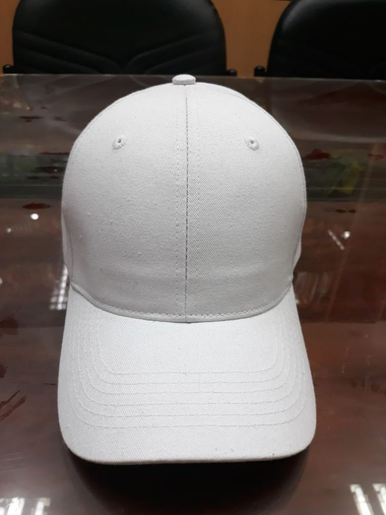 3.Hats without embroidery – White (1)