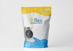 Bee Home Smart Laundry Pacs, absorb the beautiful fragrance for 72 hours, keep it smelling amazing even when being dried indoor with no sun and wind.