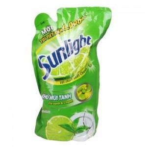 Sunlight Dishwash  Green Tea 750gr x 12 bag