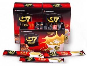 G 7 Dissolve coffee black – 15 sachet *2g