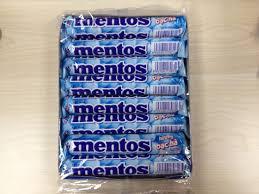 Mentos Mint 16rolls 24box/case =480G
