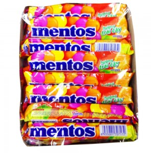 Mentos Fruit  16rolls 24box/case =480G