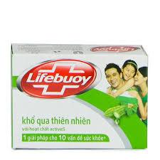 Lifebuoy soap natural 90gr (Lifebuoy soap Herb 90g)