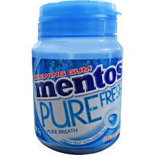 MENTOS PURE FRESH – 6 jar/Block, 342g/Block
