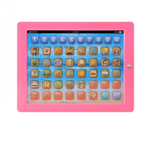 Smart tablet for children to learn digits calculations and spelling 2016