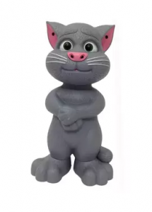 Cat Tom Smart Baby singing narrator (gray)