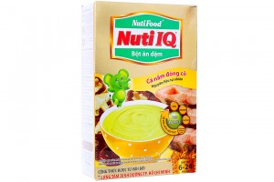 Nuti IQ Infant Cereall Fish, Mushroom
