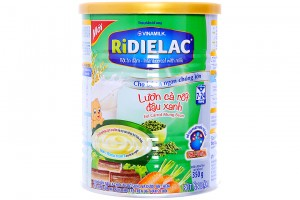 Ridielac Infant Cereal With Milk Eel Carrot Mung Been