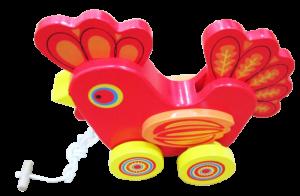Chicken shaped rickshaw