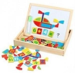 Numbering magnet board