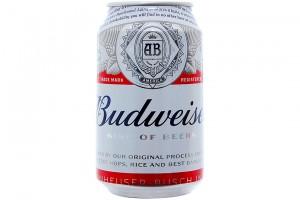 Beer Budweiser Can 330ml