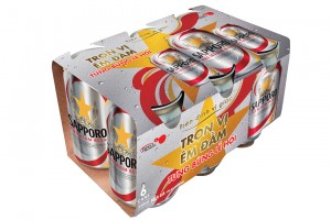 Sapporo Can 330ml (6 can)