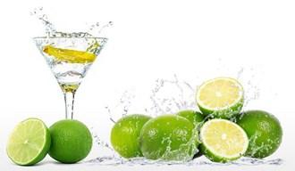 Frozen lemon juice