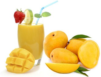 Frozen mango juice