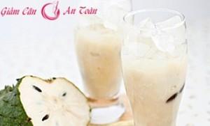 Frozen soursop juice