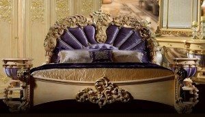 Premium bed classic carved patterns G94A-1 sophisticated