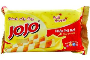 Jojo Full Cheese Wafer Rolls