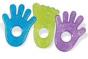 Gently slips the Munchkin hand / foot gel