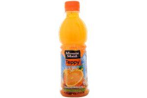 Water Orange Teppy Bottle 327ml