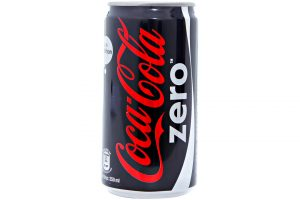 Soft Drink Coca Cola Zero Can 250ml