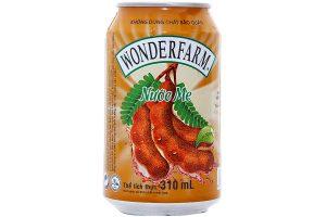 Tamarind juice Wonderfarm Can 330ml