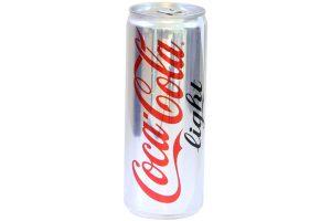 Soft Drink Coca Cola Light Can 330ml