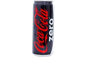 Soft Drink Coca Cola Zero Can 330ml