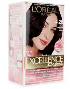 L'Oreal Excellence Creme Hair Dye # 4.26 purple brown 172 ml