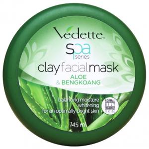 Spa series clay facialmask aloe and bengkoang 145ml