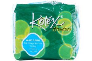 Sanitary Kotex Freedom wings 8pcs