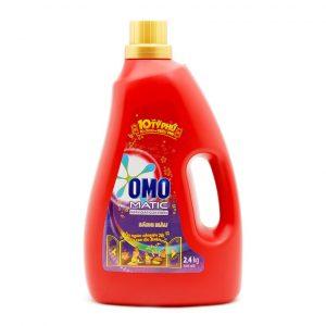 Detergent Powder OMO Matic For Top Loading Bottle 2,4kg