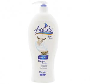 Aquala Blue Text Shower Cream 1.2L