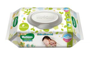 Huggies Gentle Care Baby Wipes 64 sheets