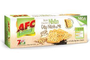 Cracker with Filling Soy Bean and Sesame 168g (7sachet)